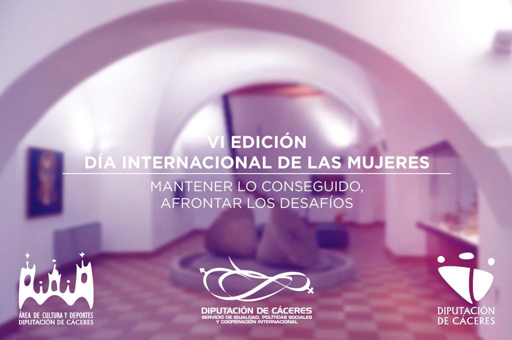 """Mujeres extremeñas en el mundo de la Cultura protagonizan la campaña de Diputación para el 8-M """"Mantener lo conseguido, afrontar los desafíos"""""""
