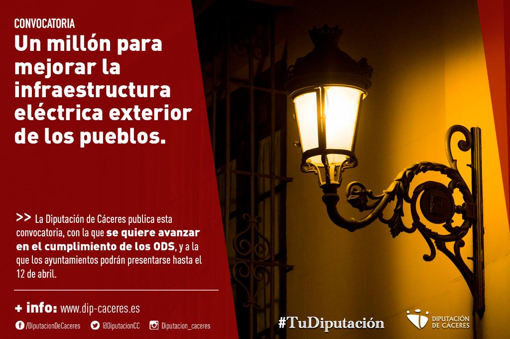 La Diputación de Cáceres publica