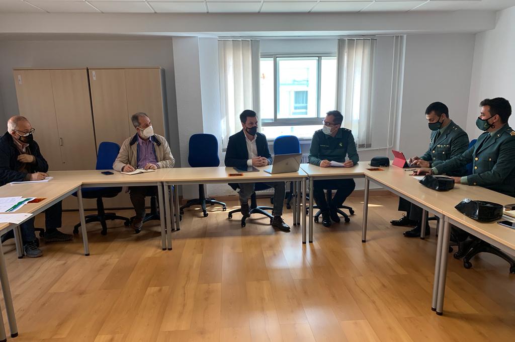 La Diputación invertirá 100.000 euros en el arreglo y mejora de los acuartelamientos de la Guardia Civil en Miajadas y Monroy