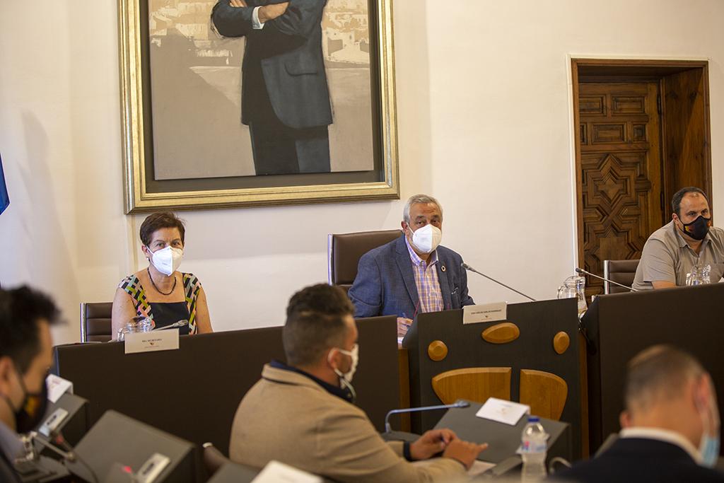 La Diputación aprueba más de 3,7M€ en inversiones destinadas a red viaria, medidas contra el despoblamiento o rehabilitaciones urgentes en municipios de la provincia