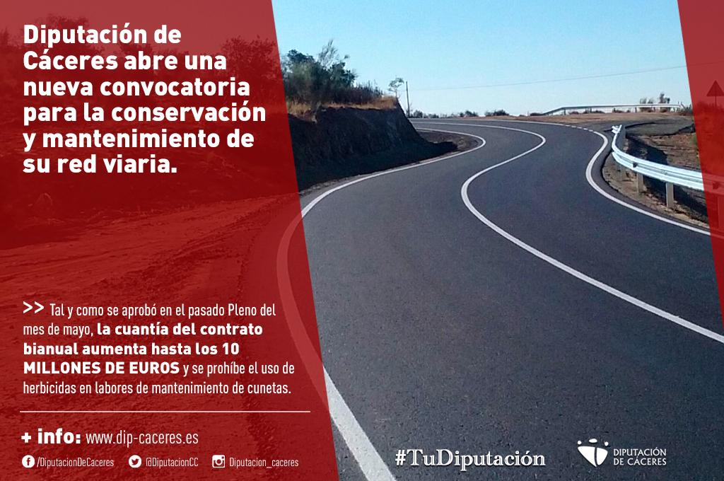 Diputación de Cáceres abre una